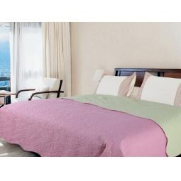 фото Покрывало Amore Mio Alba pink-grey. Размер: 200х220 см