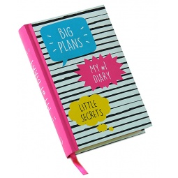 Купить My 1 Diary. Big Plans. Little Secrets