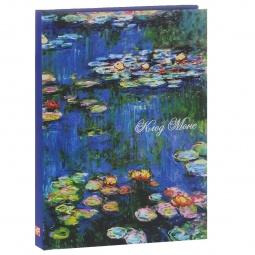 фото Клод Моне. Водяные лилии. Блокнот (коричневая бумага)