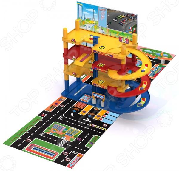 Набор игровой для мальчика Нордпласт «Гараж. Городской паркинг»Игровые наборы для мальчиков<br>Набор игровой для мальчика Нордпласт Гараж. Городской паркинг это отличный игровой набор, в котором ребенок найдет много всего интересного. Игрушка прекрасно подойдет для вашей маленького мальчика, ведь он сможет почувствовать себя совсем взрослым. Особенность данного гаража в том, что он является разборным: после игры его можно разобрать и убрать в коробку до следующей игры. Детали развивают мелкую моторику рук, логическое мышление и воображение. Есть лифт для подъема автомобилей на нужный этаж, предусмотрены спиралевидные спусковые дорожки. Машинки приобретаются отдельно.<br>