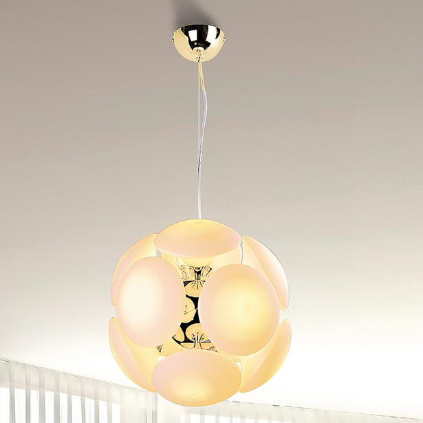 фото Люстра подвесная LuceSolara Moderno 8001/12S. Цвет: золотой, бежевый