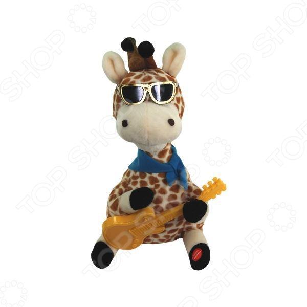 Игрушка со звуковыми эффектами Музыкальные подарки «Влюбленный Жираф»