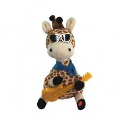 фото Игрушка со звуковыми эффектами Музыкальные подарки «Влюбленный Жираф»