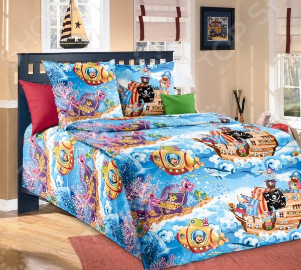 Комплект постельного белья ТексДизайн «Пираты» комплект постельного белья тексдизайн эдгар