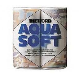 фото Специальная туалетная бумага Aqua Soft