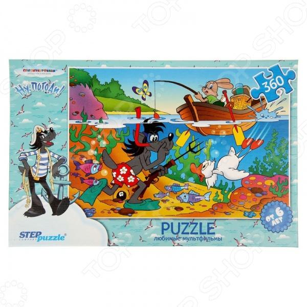 Пазл 360 элементов Step Puzzle Ну, погоди! puzzle 500 яркие совы alpz500 7701