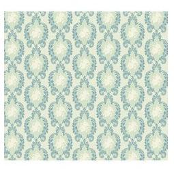 фото Отрез ткани Tilda Винтажный орнамент. Цвет: зеленый