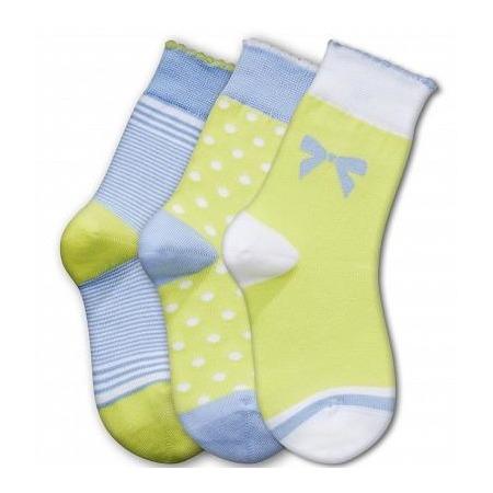 Купить Комплект детских носков Teller Adorable Girl. Цвет: желтый, голубой