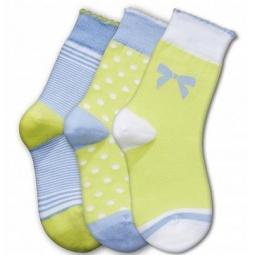 Купить Комплект детских носков Teller Adorable Girl. Цвет: жёлтый, голубой