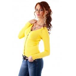 фото Жакет Mondigo 9130. Цвет: желтый. Размер одежды: 42