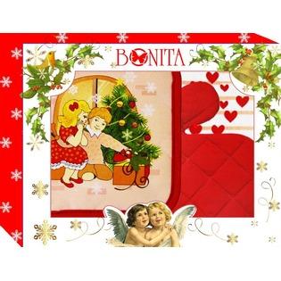 Купить Комплект кухонный подарочный BONITA «С новым годом!»
