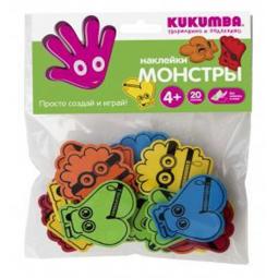 фото Набор для творчества KUKUMBA Наклейки Монстры