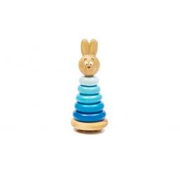 Купить Игрушка-пирамидка Томик «Зайчонок»