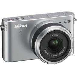 фото Фотокамера цифровая Nikon 1 J2 Kit 11-27.5mm VR. Цвет: серебристый