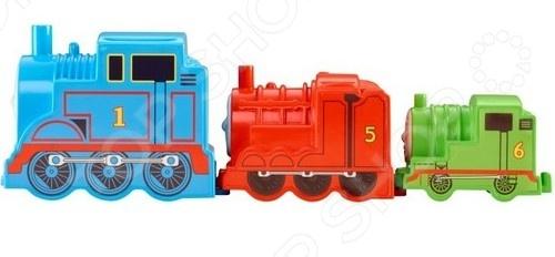 Набор из трех паровозиков Mattel CDN14 «Томас и его друзья» mattel раскопки динозавров томас и его друзья