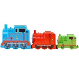 фото Набор из трех паровозиков Mattel CDN14 «Томас и его друзья»