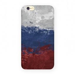 фото Чехол для iPhone 6 Mitya Veselkov «Флаг Российской Федерации»