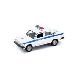 Купить Модель автомобиля 1:34-39 Welly LADA 2107. Полиция