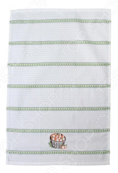 Полотенце кухонное BONITA «Персики в корзине» 41 лилию в корзине