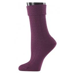 фото Носки женские Teller Wool Knit. Цвет: бордовый