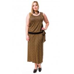 фото Платье Mondigo 27052. Цвет: какао. Размер одежды: 54