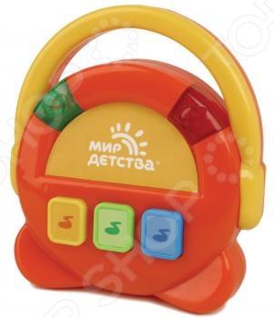 фото Игрушка музыкальная Мир детства «Поющее радио», Музыкальные игрушки для малышей