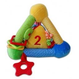 фото Мягкая игрушка развивающая Жирафики «Пирамида цветная»