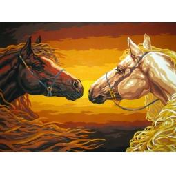 Купить Канва с нанесенным рисунком Collection D'art 10395