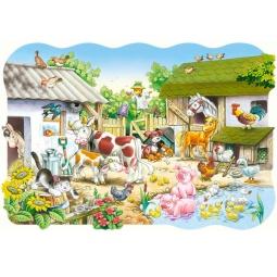 Купить Пазл 20 элементов Castorland «Ферма»