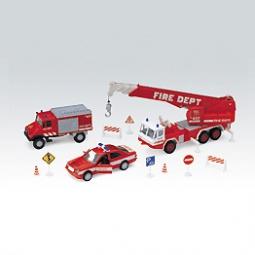 Купить Игровой набор Welly «Пожарная служба»
