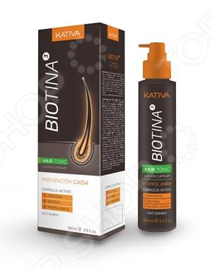 Тоник против выпадения волос Kativa Biotina сыворотка флюид kativa тоник против выпадения волос с биотином kativa biotina 100мл