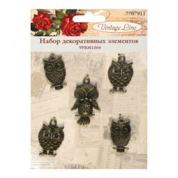 фото Набор декоративных элементов для вышивки Vintage Line 9PRM1564