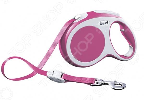 Поводок-рулетка Flexi VARIO L. Цвет: розовый