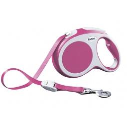 фото Поводок-рулетка Flexi VARIO L. Цвет: розовый. Длина поводка: 8 м. Вес собаки: до 50 кг