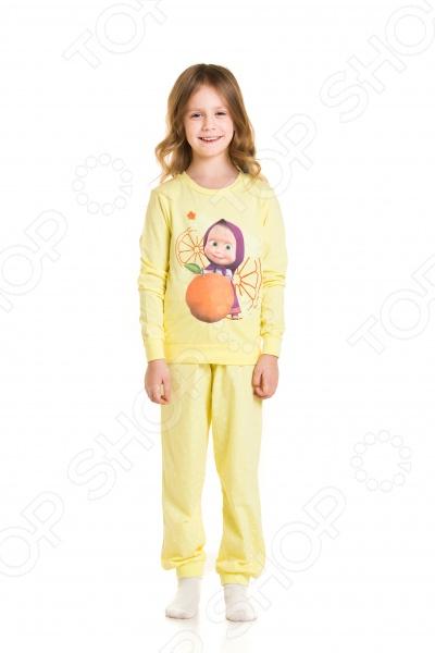 Пижама для девочки «Маша  Медведь. Рыжее солнце!»
