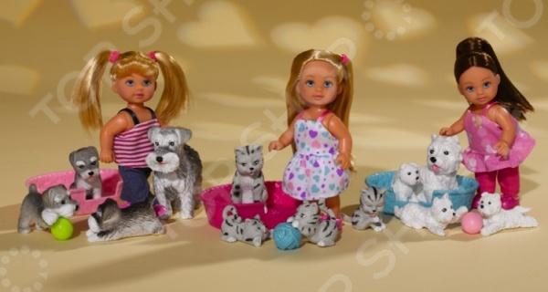 Кукла Simba «Еви с домашними животными». В ассортименте