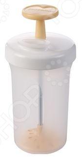 Взбиватель сливочного масла Tescoma Della CasaКулинарные принадлежности<br>Взбиватель сливочного масла Tescoma Della Casa станет отличным дополнением к набору аксессуаров и принадлежностей для кухни. Он выполнен из пищевого пластика и предназначен для взбивания сливок в масло. Имеется отверстие для сливания лишней жидкости. Взбиватель можно мыть в посудомоечной машине. Торговая марка Tescoma это синоним первоклассного качества и стильного современного дизайна. Компания занимается производством и продажей кухонных инструментов, аксессуаров, посуды и т.д. Функциональность, практичность и инновационные решения вот основные принципы торгового бренда Tescoma.<br>