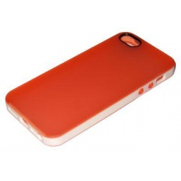 фото Чехол и пленка на экран для iPhone 5 Yoobao Protect Case. Цвет: оранжевый
