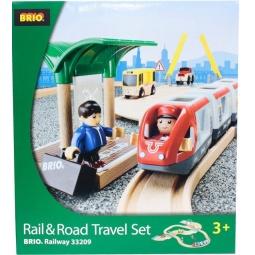 Купить Железная дорога с переездом Brio 33209