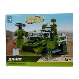 Купить Конструктор игровой 1 Toy «Военная техника. Джип»