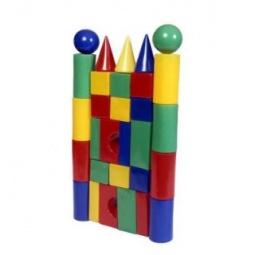 фото Набор кубиков Строим вместе «Строительная стена 30»
