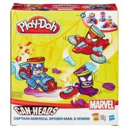 фото Набор пластилина игровой Hasbro «Транспортные средства героев Марвел». В ассортименте