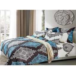 фото Комплект постельного белья Primavelle «Истен». 2-спальный. Размер простыни: 215х220 см. Размер наволочки: 70х70 см — 2 шт