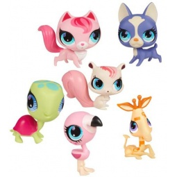 фото Набор игровой для девочек Littlest Pet Shop Зверюшка тип В. В ассортименте