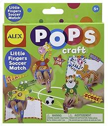 Набор для детского творчества Alex POPS CRAFT «Веселый футбол»
