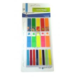 Купить Набор: стикеры-закладки и карандаш Silwerhof 801005. В ассортименте