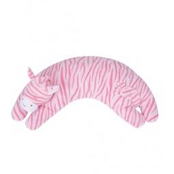 фото Подушка-игрушка Angel Dear Зебра. Цвет: розовый