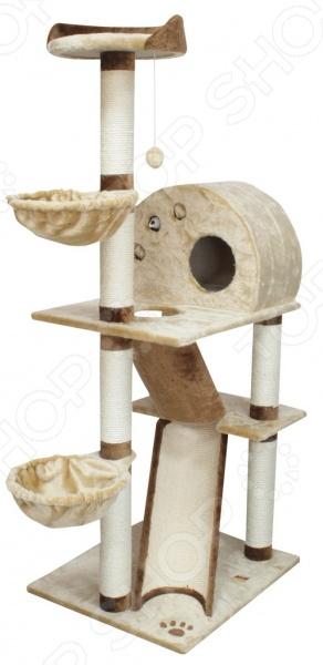 Когтеточка DEZZIE Аркона это симпатичная когтеточка, которая станет не только необходимым элементом ухода за вашим любимцем, но и просто приятным дополнением к интерьеру. Благодаря красивым и надежным когтеточкам коготки вашей кошки будут в полном порядке, а так же не пострадают мебель и обои. Даже если ваша кошка не точила когти до этого на когтеточке ее внимание явно привлечет новая вещь и постепенно она станет точить коготки только там. Кроме того, для дополнительного эффекта вы можете использовать опрыскиватели с кошачьей мятой, таким образом ваша кошка сразу поймет, что новый предмет в доме предназначен для нее. Материал: сизаль, дерево, искусственный мех.