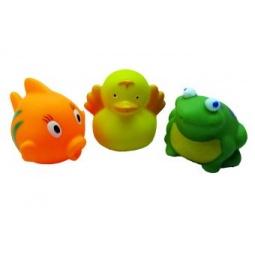 фото Набор игрушек для ванны Жирафики «В пруду»