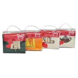 фото Комплект из 2-х полотенец и губки подарочный BONITA «Чайный сюрприз». В ассортименте